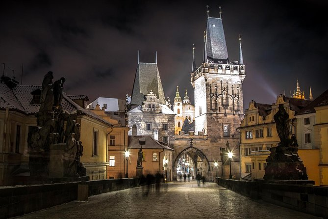 3-hour Prague by Night Walking Tour