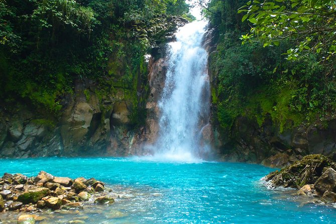 Rio Celeste river waterfall, hike and hot springs tour from San Jose, Costa Rica photo 1