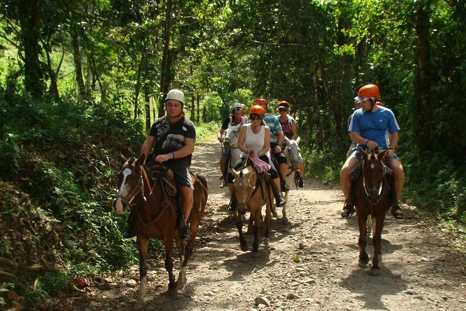 Canopy and Horseback Riding at Arenal La Fortuna Guided through Mountain Trail photo 1