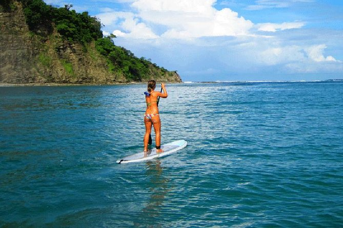 Garza beach stand up paddleboard (SUP) open ocean at Nosara in Guanacaste
