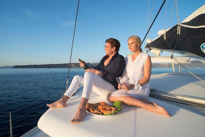 Private Luxury Catamaran Cruise of Santorini