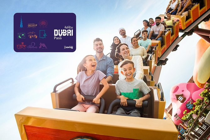 Dubai Unlimited Pass including IMG World of Adventure
