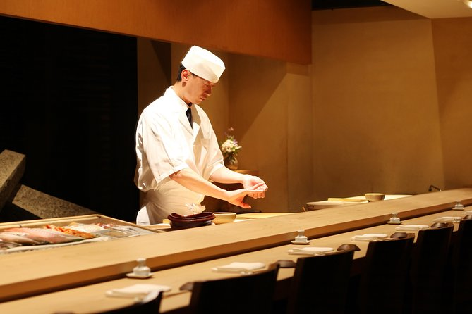 Sushi making with a chef at the Morimoto