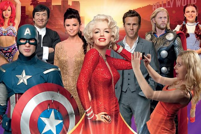 Hollywood Day Pass: Madame Tussauds, Celebrity Homes and Hop-on Hop-off 24 HR