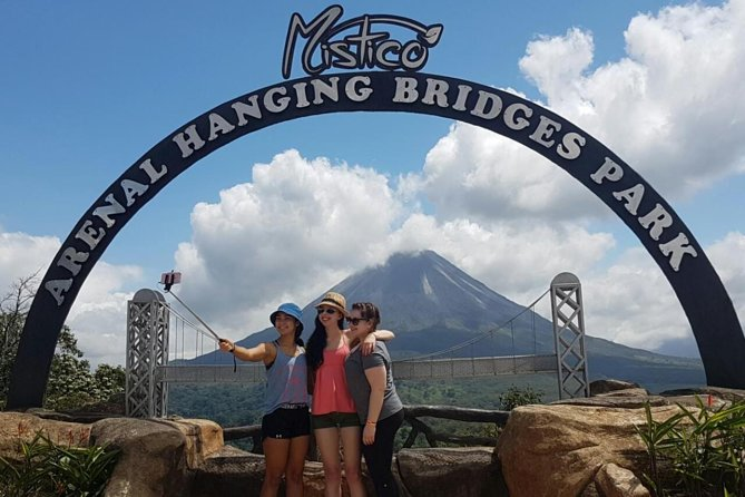 Mistico Hanging Bridges Volcano Hike Fortuna Waterfall and Ecotermales Springs