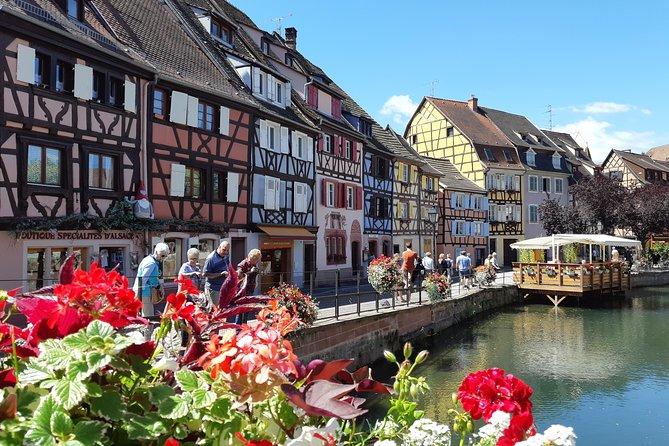 Visite privée d'une journée complète: Route du vin à Colmar et en Alsace au départ de Strasbourg