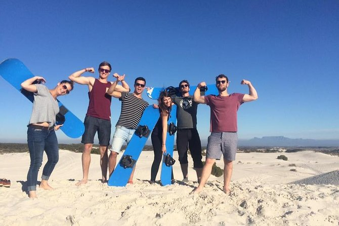 Sandboarding from Cape Town (Half Day guided experience with transport)