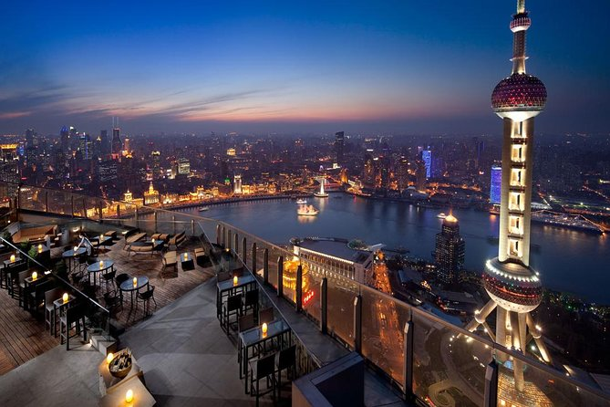 Shanghai Authentic Dinner and Night River Cruise with Rooftop Bar Hopping Option