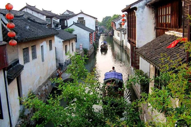 Private Flexible Suzhou City Tour with Tongli or Zhouzhuang Water Town Options