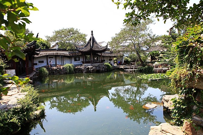 Suzhou Private Day Trip from Shanghai with Bullet Train Option