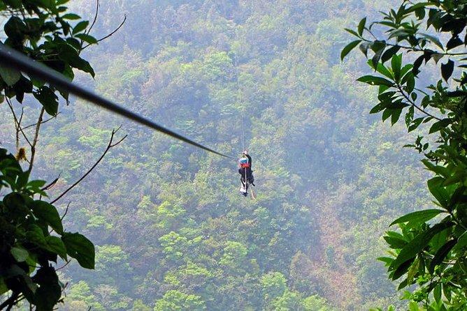 Sky Tram-Sky Trek and Arboreal Tree Climbing from Monteverde