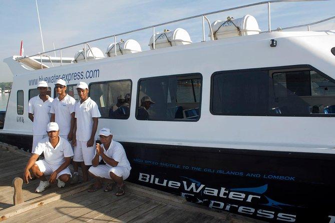 Blue Water Express Boat Transfer From Serangan Or Padang Bai To Lombok Or Vice Versa