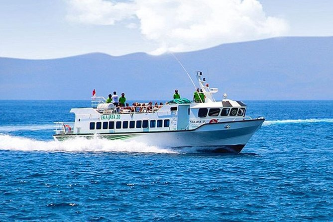 Eka Jaya Boat Transfer from Lombok to Padang Bai