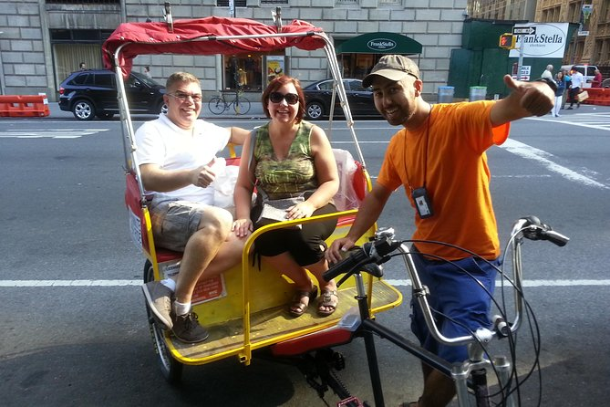 Central Park Pedicab Tours with New York Pedicab Services