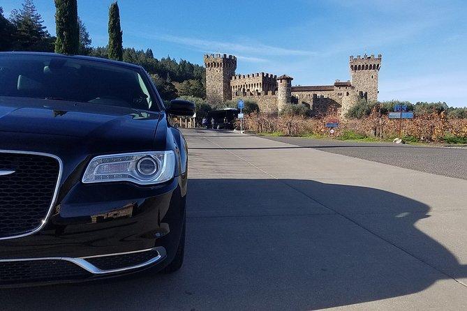 8 Hour Private Sonoma or Napa Wine Tasting Tour (Sedan, SUV or Limo)
