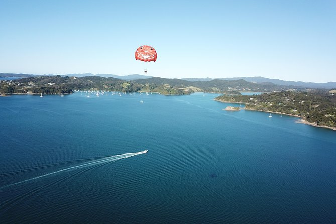Private Parasail Charter over the Bay of Islands