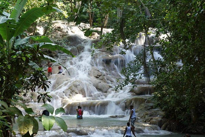 Dunn's River Falls and Blue Hole combo-Falmouth