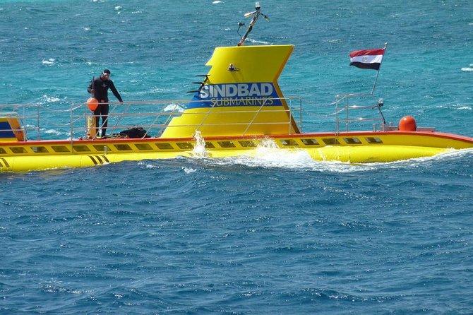 SINDBAD Submarine Tour From Hurghada