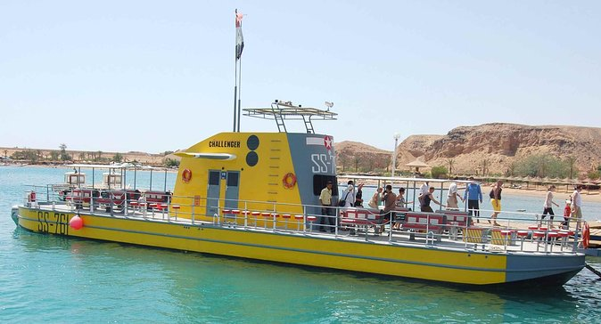 Seascope (Semisubmarine) trip from Hurghada Red Sea
