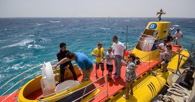 Hurghada Sindbad Submarine: 3-Hour Tour