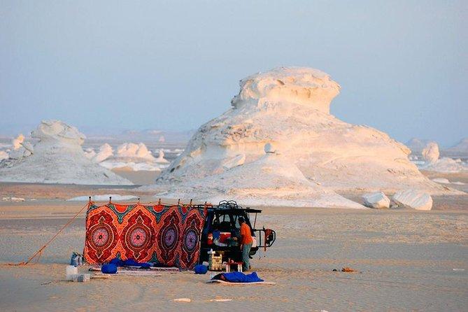 One Night Camping in White & Black Deserts (Baharaya Oasis)