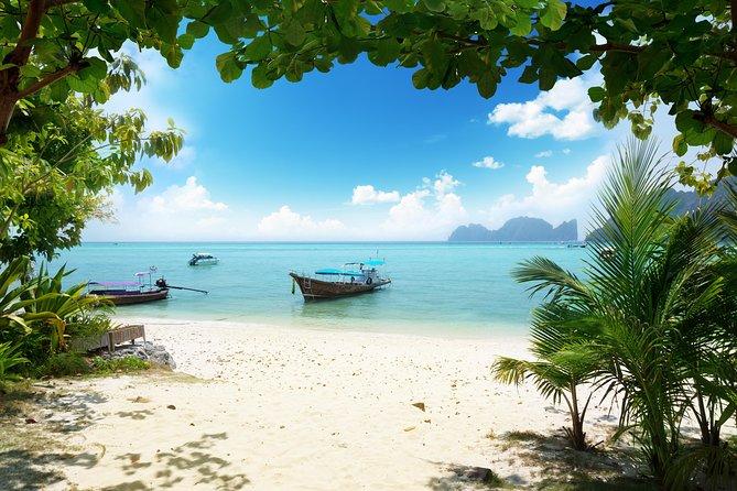 De Phuket com destino às ilhas Phi Phi de balsa expressa incluindo almoço