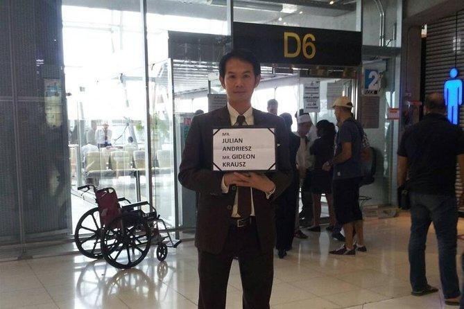 Serviço Fast-Track de Chegada Guiada: Bangkok Suvarnabhumi Airport