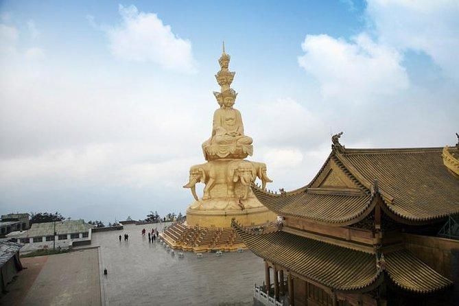 Leshan Giant Buddha Emei mountian 2 days trip car service