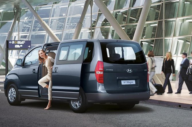 Luxury Minivan for Airport transfers in Mauritius