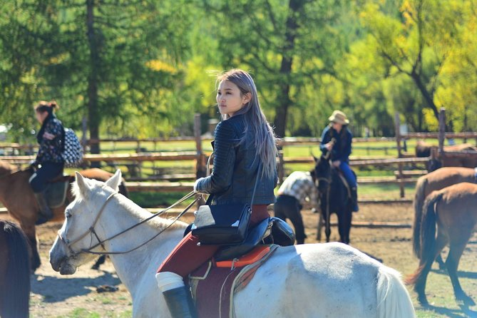 1 Day Horseback Riding Tour to Historic Temple in Mongolia Including Lunch