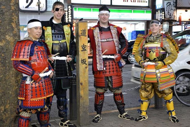 Samurai photo shooting at Street in Shibuya photo 6