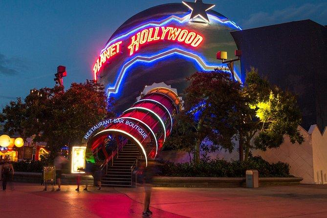 Planet Hollywood Disneyland Paris: valeur d'un repas de 26EUR