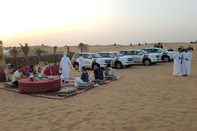 Dubai Desert Safari evening with VIP Treat , BBQ Buffet and Exciting Liveshows