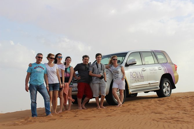 Morning Desert Safari:Dune Bashing Experience with Camel Ride from Sharjah