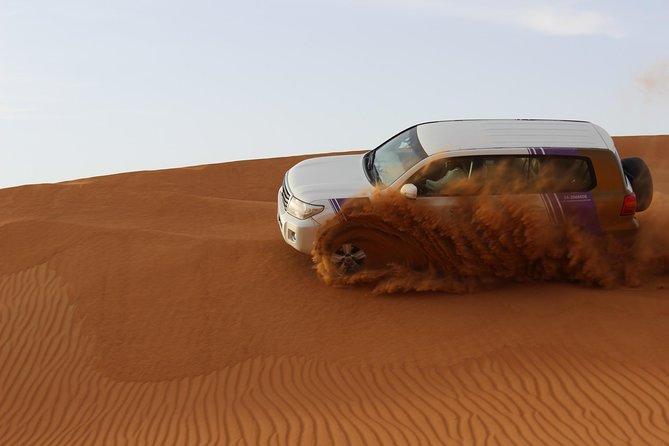 Evening Desert Safari:- Adventure Rides, Live Entertainment , BBQ Buffet & More