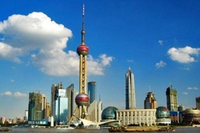 Private Shanghai City Full Day Tour with Oriental Pearl TV Tower Buffet Dinner