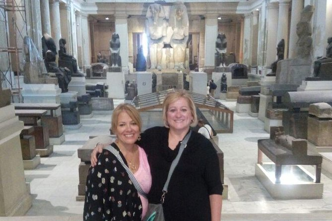Giza pyramids and Egyptian museum private guided tour photo 8