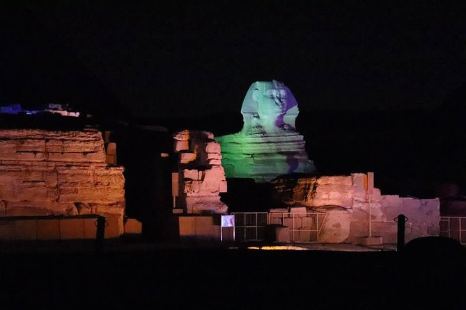 Giza pyramids sphinx and light show from Cairo Giza hotel with expert guide photo 2