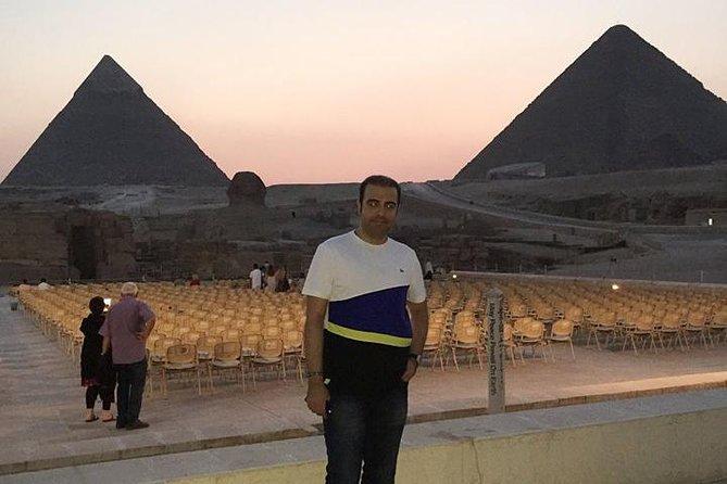 Sound and Light Show pyramids