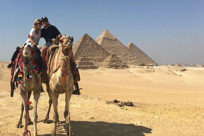 half day tour Giza pyramids with Egyptology tour guide
