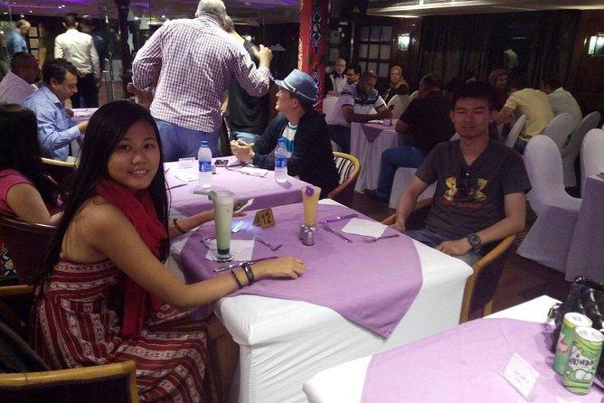 Cairo Nile River Dinner Cruise Night Tour