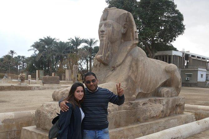 day tour to Giza pyramids ,Sakkara and Memphis