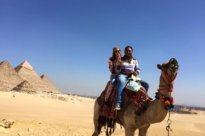 Cairo layover Giza pyramids and felucca ride on Nile river from cairo airport