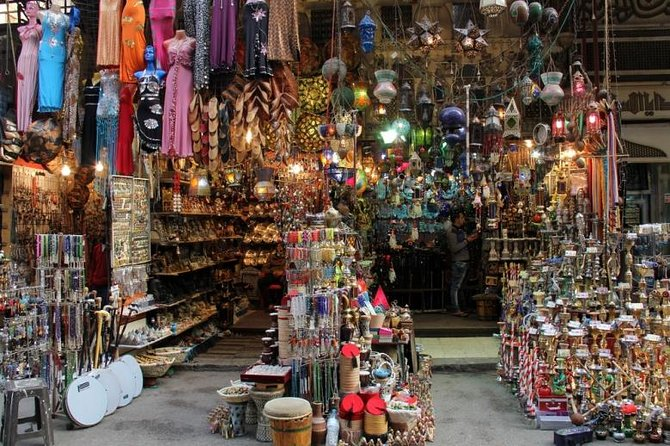 Visita guiada ao mercado de Khan el-Khalili, no Cairo