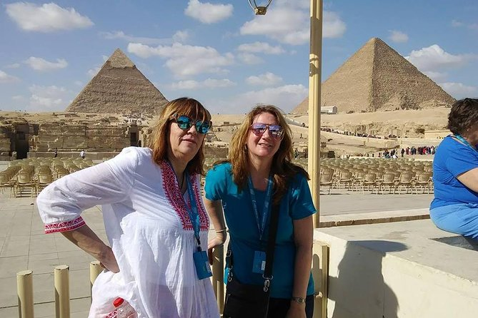 Giza complex pyramids ,Memphis old city and Sakkara tour