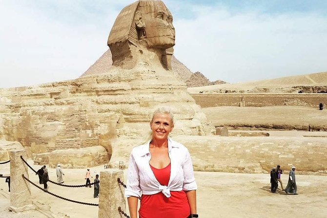 Day Tour to the Giza pyramids Sakkara Memphis and Dahshur from Cairo
