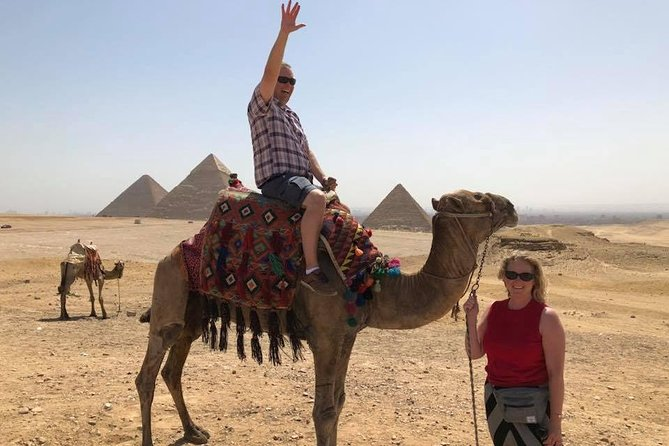 Giza pyramids sphinx day tour include lunch koshry photo 2