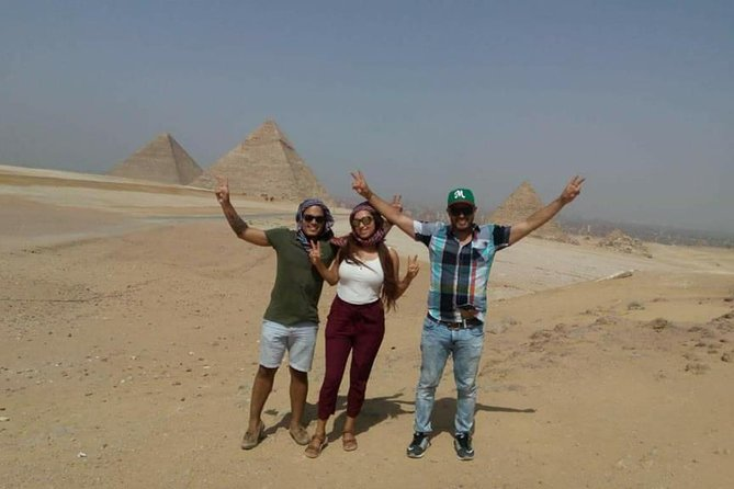 Full-Day Tour Giza Pyramids ,Sphinx ,Memphis and Saqqara from Cairo