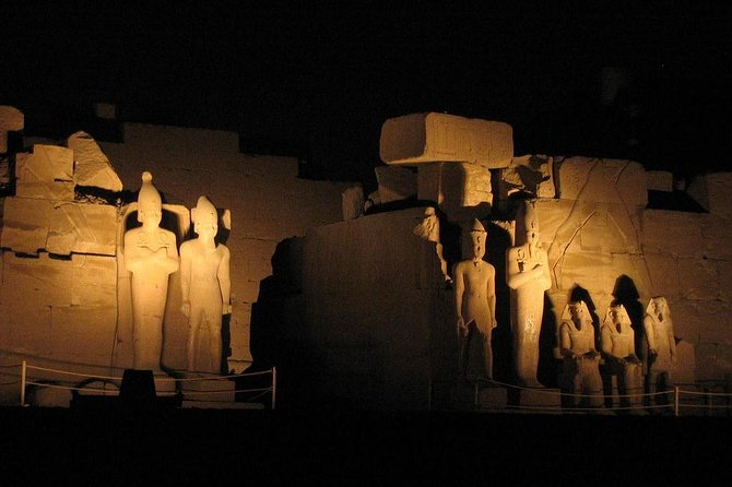 Karnak Temples Sound and Light Show in Luxor