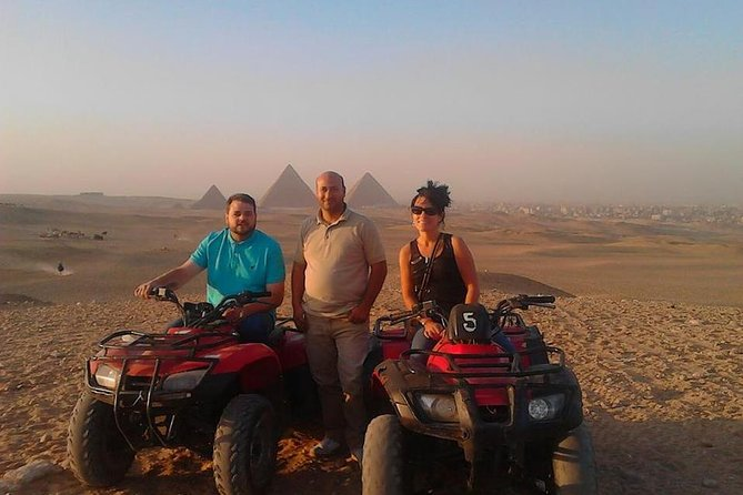 1 Hour Quad Bike Excursion at the Complex of Giza Pyramids